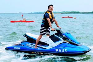 水上バイク救助体験